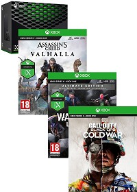 Xbox Series X Konsole + Watch Dogs Legion Ultimate Edition + Assassins Creed Valhalla + Black Ops Cold War (Xbox Series X)