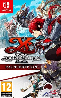 Ys IX: Monstrum Nox [Pact Edition] (Nintendo Switch)