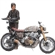 The Walking Dead Daryl Dixon Deluxe Figur