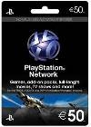 PSN Playstation Network Card 50 Euro (PS3)