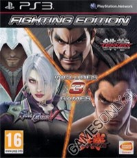 3 Spiele Fighting Pack Edition (Tekken Tag 2 + Soul Calibur 5 + Tekken 6) (PS3)