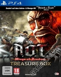 A.O.T. Wings of Freedom (Attack on Titan) Treasure Box [uncut Edition] (PS4)
