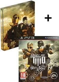 Army of Two: The Devils Cartel [Steelbook US uncut Edition] (PS3)