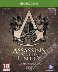 Assassins Creed 5: Unity [Bastille Collectors uncut Edition] inkl. Bonus DLC Doublepack (Xbox One)