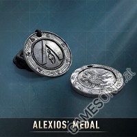 Assassins Creed: Odyssey Alexios Medaillon + Leder Halskette (Merchandise)