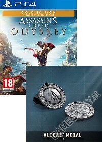 Assassins Creed: Odyssey [AT Special Gold uncut Edition] (PS4)