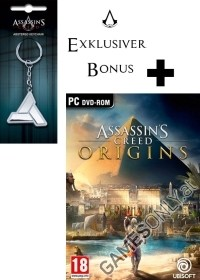 Assassins Creed: Origins [AT uncut Edition] inkl. Bonusmission + Schlüsselanhänger (PC)