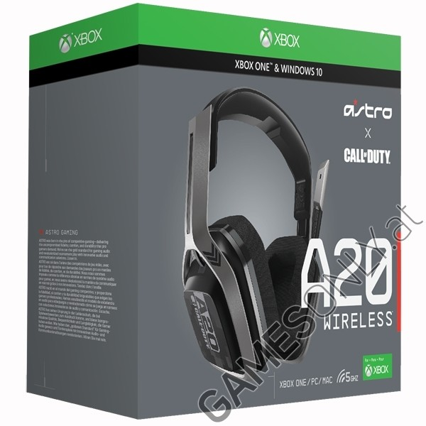 Xbox One - Astro Gaming A20 Headset COD Black/Silver Xbox One, PC, MAC