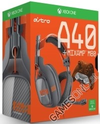 Astro Gaming A40 Headset Orange inkl. M80 MixAmp Xbox One (Xbox One)