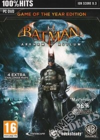 Batman: Arkham Asylum Game Of The Year [uncut Edition] + 4 Bonus Maps (PC)