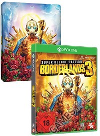 Borderlands 3 [Super Deluxe Steelbook uncut Edition] inkl. Bonus (Xbox One)