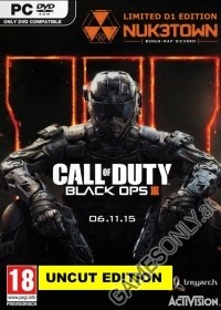 Call Of Duty Black Ops 3 [EU PEGI D1 Bonus Zombie uncut Edition] + Nuketown Bonusmap (PC)