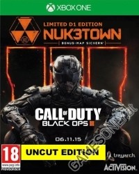 Call Of Duty Black Ops 3 [AT PEGI D1 Bonus Zombie uncut Edition] + Nuketown Bonusmap (Xbox One)