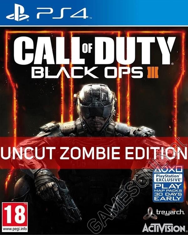 PS4 - Call Of Duty: Black Ops 3 [EU PEGI Zombie uncut Edition]