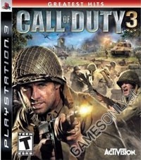Call of Duty 3 [Platinum uncut Edition] (inkl. 2ter Weltkrieg Symbole) (PS3)