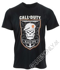 Call of Duty: Black Ops 4 Rubber T-Shirt (L) (Merchandise)