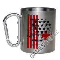 Call of Duty: Black Ops Cold War Stars und Stripes Camping Tasse (Merchandise)