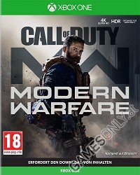 Call of Duty: Modern Warfare [uncut Edition] - Cover beschädigt (Xbox One)