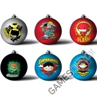 DC Comics Christbaumkugeln (6er-Pack) (Merchandise)