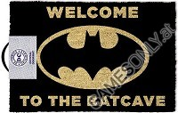 DC Comics Welcome To The Bat Cave Fußmatte (Merchandise)