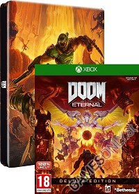 DOOM Eternal [DELUXE Steelbook Bonus uncut Edition] (Xbox One)