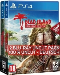 Dead Island [Definitive AT uncut 2 Blu Ray Disc Collection] (PS4)