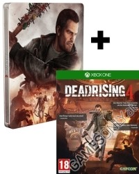 Dead Rising 4 [Steelbook AT uncut Pro Edition] inkl. 2 Bonus DLCs (Facebook Promotion) (Xbox One)