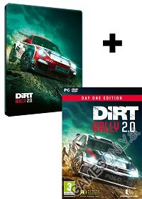 DiRT Rally 2.0 [Day One STEELBOOK Edition] inkl. Preorder Bonus (PC)