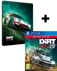 DiRT Rally 2.0 [Day One STEELBOOK Edition] inkl. Preorder Bonus (PS4)