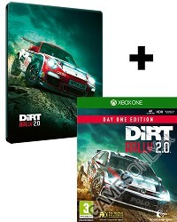 DiRT Rally 2.0 [Day One STEELBOOK Edition] inkl. Preorder Bonus (Xbox One)