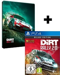 DiRT Rally 2.0 [Deluxe STEELBOOK Edition] inkl. Bonus (PS4)