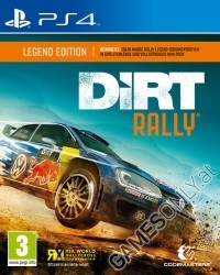 Dirt Rally Limited Legend Edition + 4 Boni (PS4)