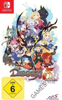 Disgaea 5 Complete Edition (Nintendo Switch)