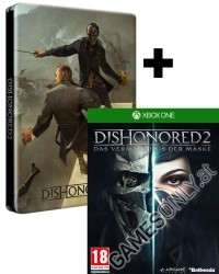 Dishonored 2: Das Vermächtnis der Maske [Steelbook AT uncut Edition] + 5 Bonus DLCs (Xbox One)