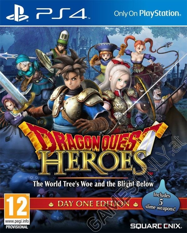 ps4 dragon quest heroes day one edition. Black Bedroom Furniture Sets. Home Design Ideas
