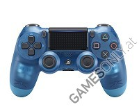 DualShock 4 wireless Controller Blue Crystal V2 (2017) [Limited Edition] (PS4)