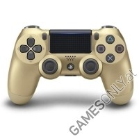 DualShock 4 wireless Controller Gold V2 (2017) [Limited Edition] (PS4)