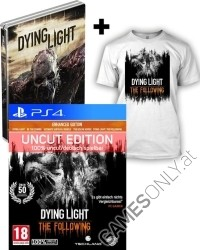 Dying Light: The Following Enhanced Steelbook [AT uncut Edition] + T-Shirt (L) + Kettensäge (PS4)