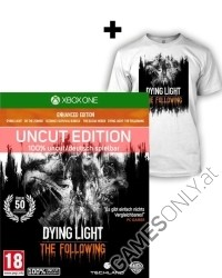 Dying Light Teil 1 + The Following [Enhanced AT uncut Edition] + T Shirt (L) (Xbox One)