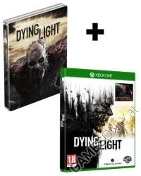 Dying Light [Limited Steelbook AT uncut Edition] inkl. Be the Zombie DLC + Kettensäge (Xbox One)