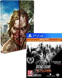 Dying Light: The Following Enhanced [AT uncut Edition] + Steelbook + Kettensäge (PS4)