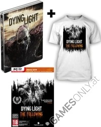 Dying Light Teil 1 + The Following [Enhanced D1 Bonus Steelbook uncut Edition] + T-Shirt (PC)