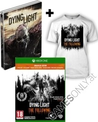 Dying Light Teil 1 + The Following [Enhanced AT D1 Bonus Steelbook uncut Edition] + T-Shirt (Xbox One)