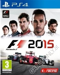 F1 2015 PS4 Xbox One