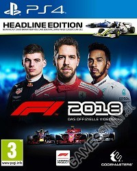 F1 (Formula 1) 2018 [Headline Edition] (PS4)