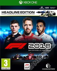 F1 (Formula 1) 2018 [Headline Edition] (Xbox One)