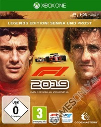 F1 (Formula 1) 2019 [Legends Edition] (Early Access) (Xbox One)