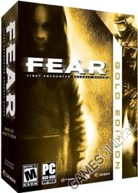 FEAR GOLD complete Box *rare* [US uncut Edition] (PC)