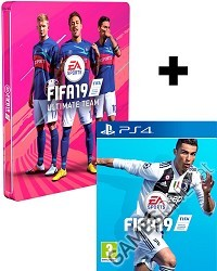 FIFA 19 [Limited Steelbook Edition] inkl. Preorder Boni (PS4)