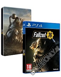Fallout 76 [Limited Steelbook uncut Edition] (PS4)